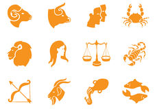 Zodiac signs. Royalty Free Stock Photo