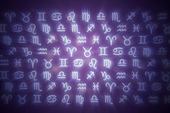 Zodiac signs. Royalty Free Stock Images