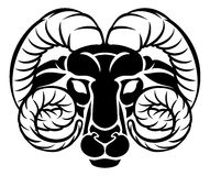 Zodiac Signs Aries Icon Stock Images