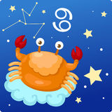 Zodiac signs -Cancer Stock Image