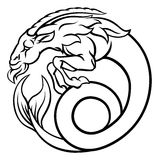 Zodiac Signs Capricorn Stock Photography