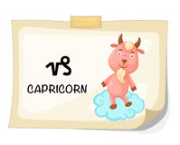 Zodiac signs -Capricorn Royalty Free Stock Photography