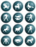 Zodiac signs Royalty Free Stock Image