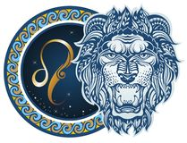 Zodiac signs - Leo Stock Image