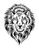 Zodiac signs - Leo.Tattoo design Royalty Free Stock Images