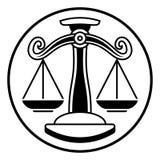 Zodiac Signs Libra Scales Royalty Free Stock Photos