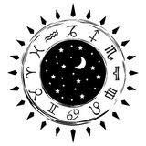 Zodiac Signs Set 2 Royalty Free Stock Image