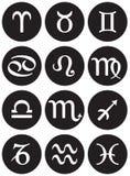 Zodiac signs Stock Image