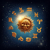 Zodiac signs Royalty Free Stock Photos