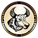 Zodiac signs - Taurus Stock Photo
