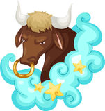 Zodiac signs - Taurus Royalty Free Stock Photos