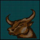 Zodiac signs - Taurus - Stock Photos