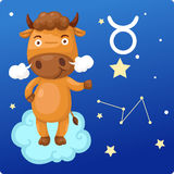 Zodiac signs - Taurus Royalty Free Stock Images