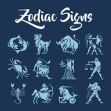 Zodiac Signs vector art Stock Photography
