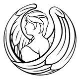 Zodiac Signs Virgo Icon Stock Photo