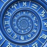 Zodiac spiral Stock Image