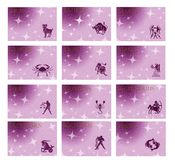Zodiac star signs Stock Photography