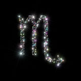 Zodiac stars Scorpio Royalty Free Stock Photo