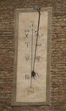 Zodiac sun clock. On building in Italy Modena Royalty Free Stock Photo