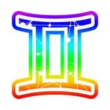 Zodiac symbol icon stock illustration