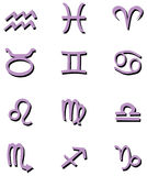 Zodiac symbols Stock Photo