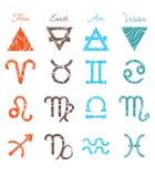 Zodiac Symbols. Stock Photography