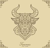 Zodiac Taurus royalty free stock photos