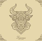 Zodiac Taurus Royalty Free Stock Photos