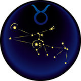 Zodiac Taurus Sign Royalty Free Stock Photo