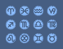 Zodiac. Vector format Stock Photos