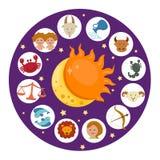 Zodiac vector Stock Photo