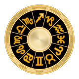 Zodiac wheel (01) Stock Photos