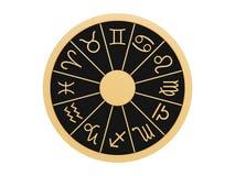 Zodiac wheel Stock Images