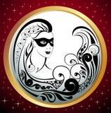 Zodiac Wheel with sign of Virgo Stock Photos