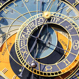 Zodiacal clock square Stock Photos