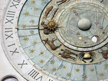 Zodiacal Klok stock afbeeldingen