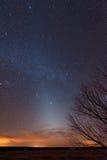 Zodiacal Licht royalty-vrije stock afbeeldingen