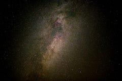 Zodiacal licht met Melkweg, melkwegen en sterren in de nacht s stock afbeeldingen