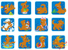 Zodiacal signs Stock Photos