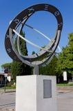 Zodiacal Sundial in Aiello del Friuli. Italy Stock Photo