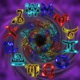 Zodiaco illustrazione di stock