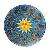 Zodiaco aislado Imagen de archivo