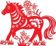 Zodiaco chino: caballo Imagen de archivo