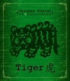 Zodiaco cinese - tigre Immagini Stock