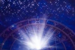 Zodiaco con las estrellas Fotos de archivo libres de regalías
