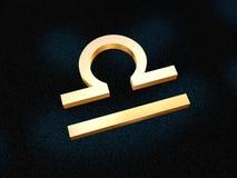 Zodiaco del Libra Fotografia Stock Libera da Diritti