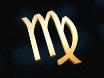 Zodiaco del Virgo Fotografia Stock