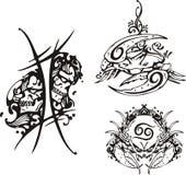 Zodiaco di fantasia. Fotografia Stock