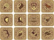 Zodiaco europeo Imagen de archivo