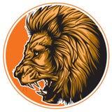 Zodiaco Leo Black Foto de archivo libre de regalías
